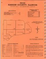 Index Map 2, Pope and Hardin Counties 1975